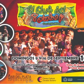 club del tambor sept 2018